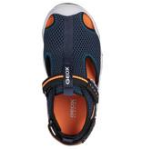 Geox Wader Navy Orange Fluo