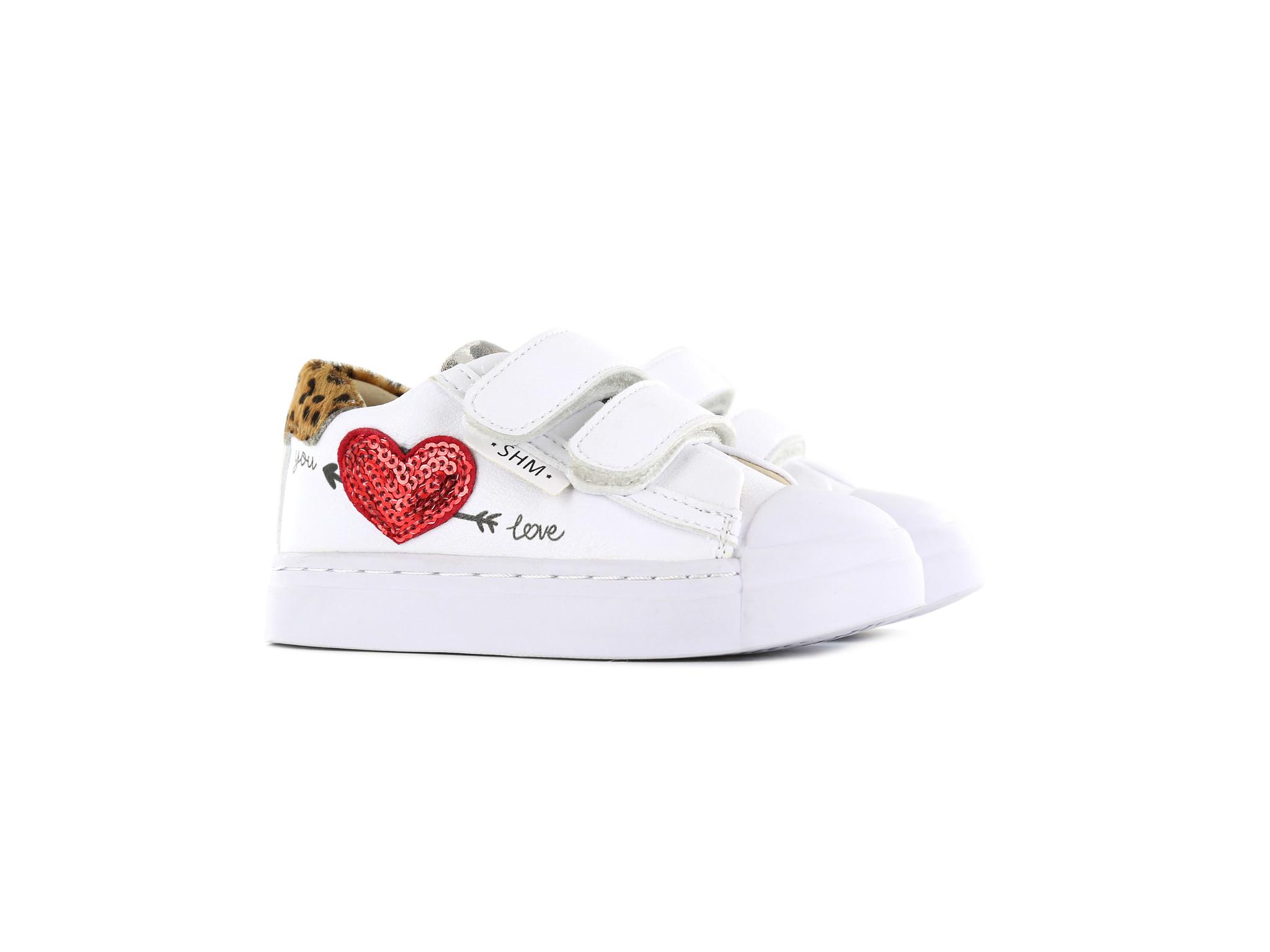 Shoesme Shoesme White Heart