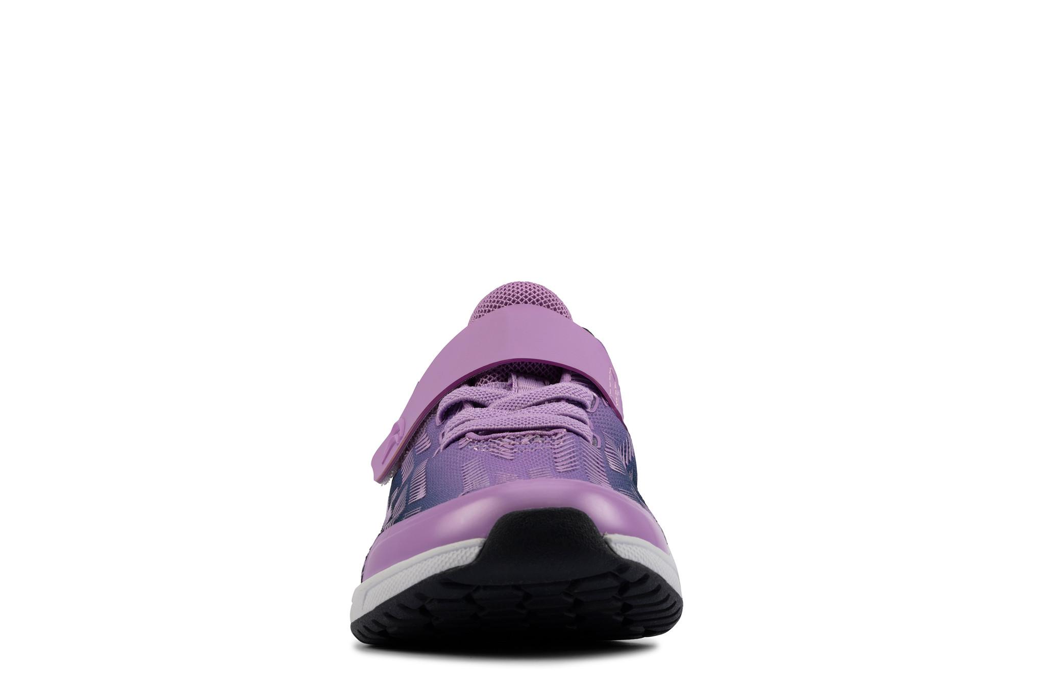 Clarks Aeon Pace Purple Infant