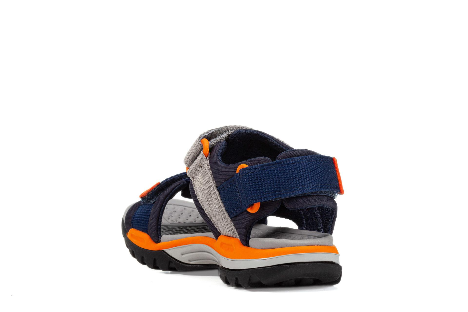 Geox Borealis Navy/Orange