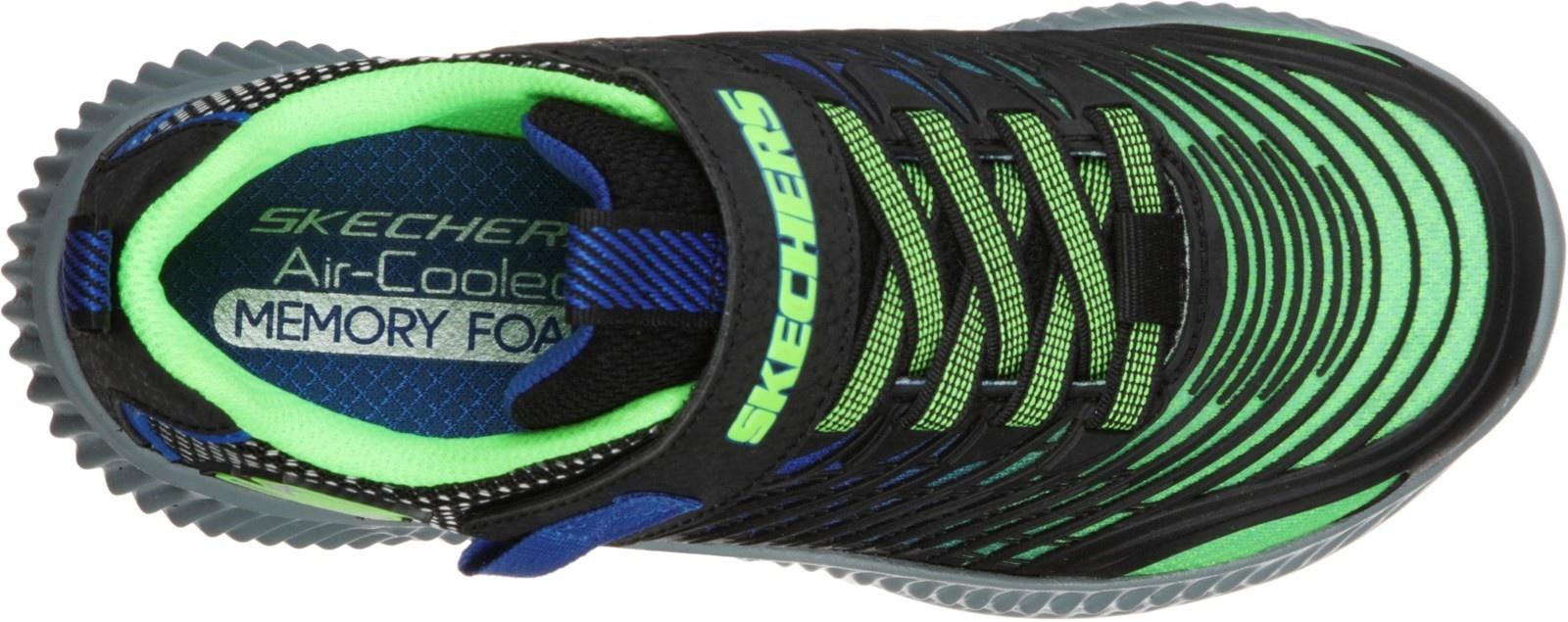 Skechers Optic Lime Blue