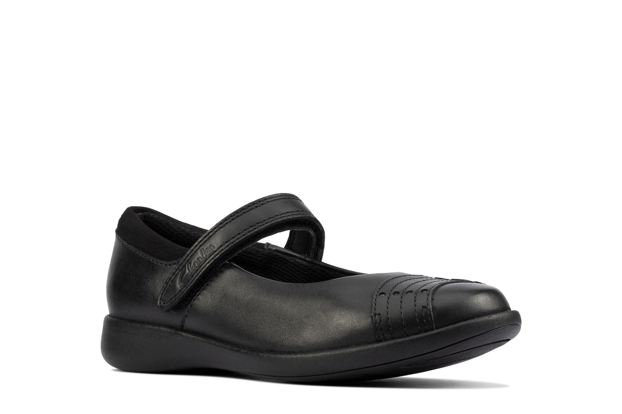 Clarks Etch Beam Leather Junior