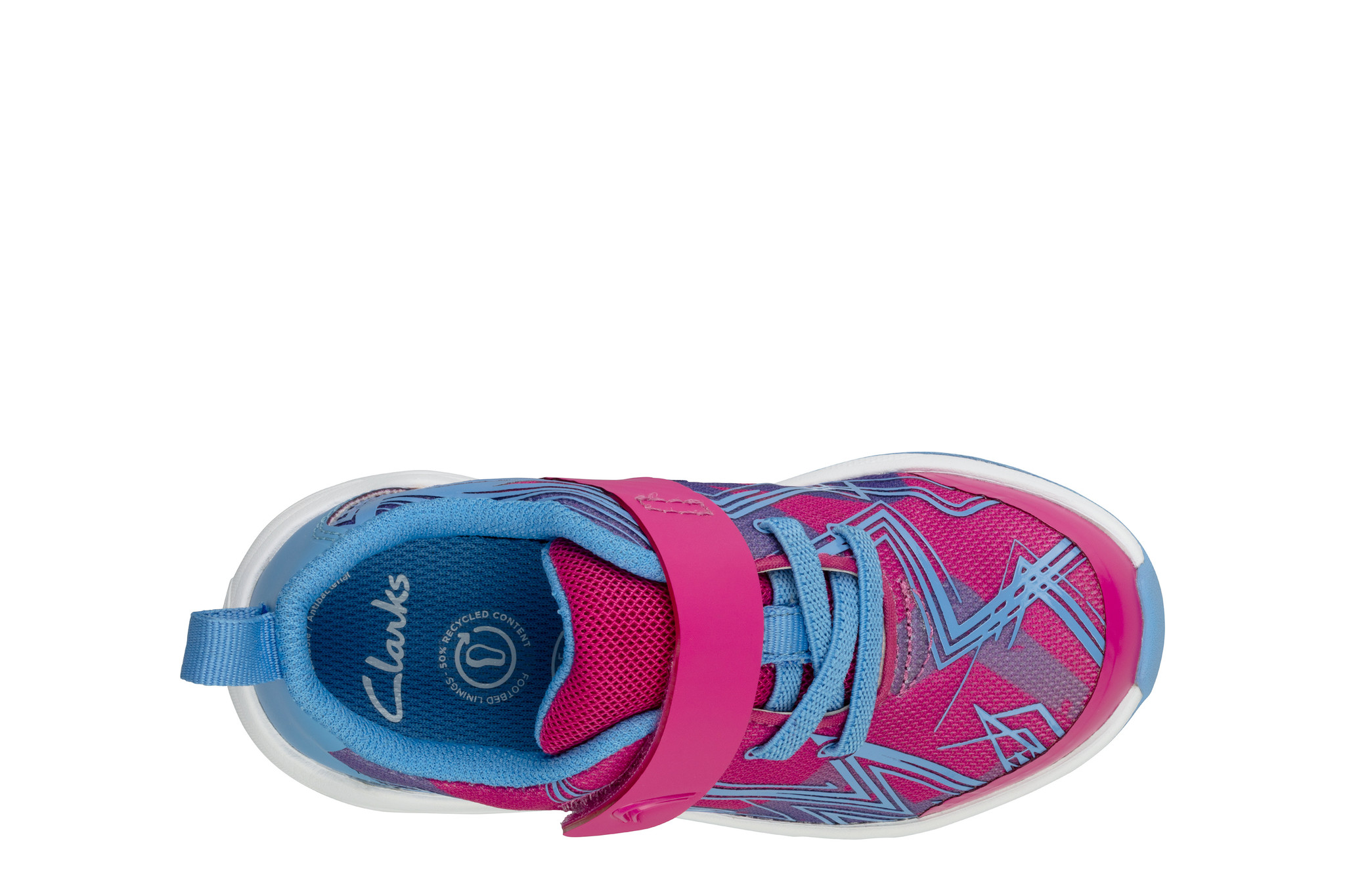 Clarks Aeon Pace Pink Combi Infant