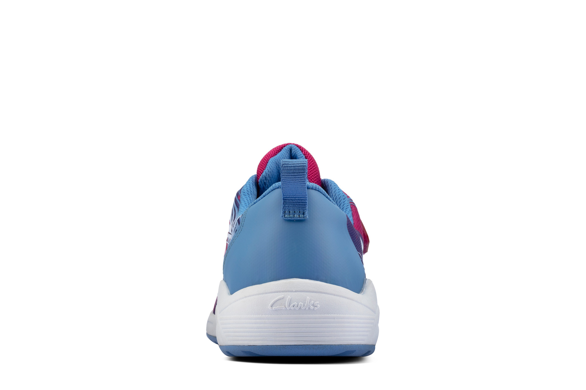 Clarks Aeon Pace Pink Combi Youth