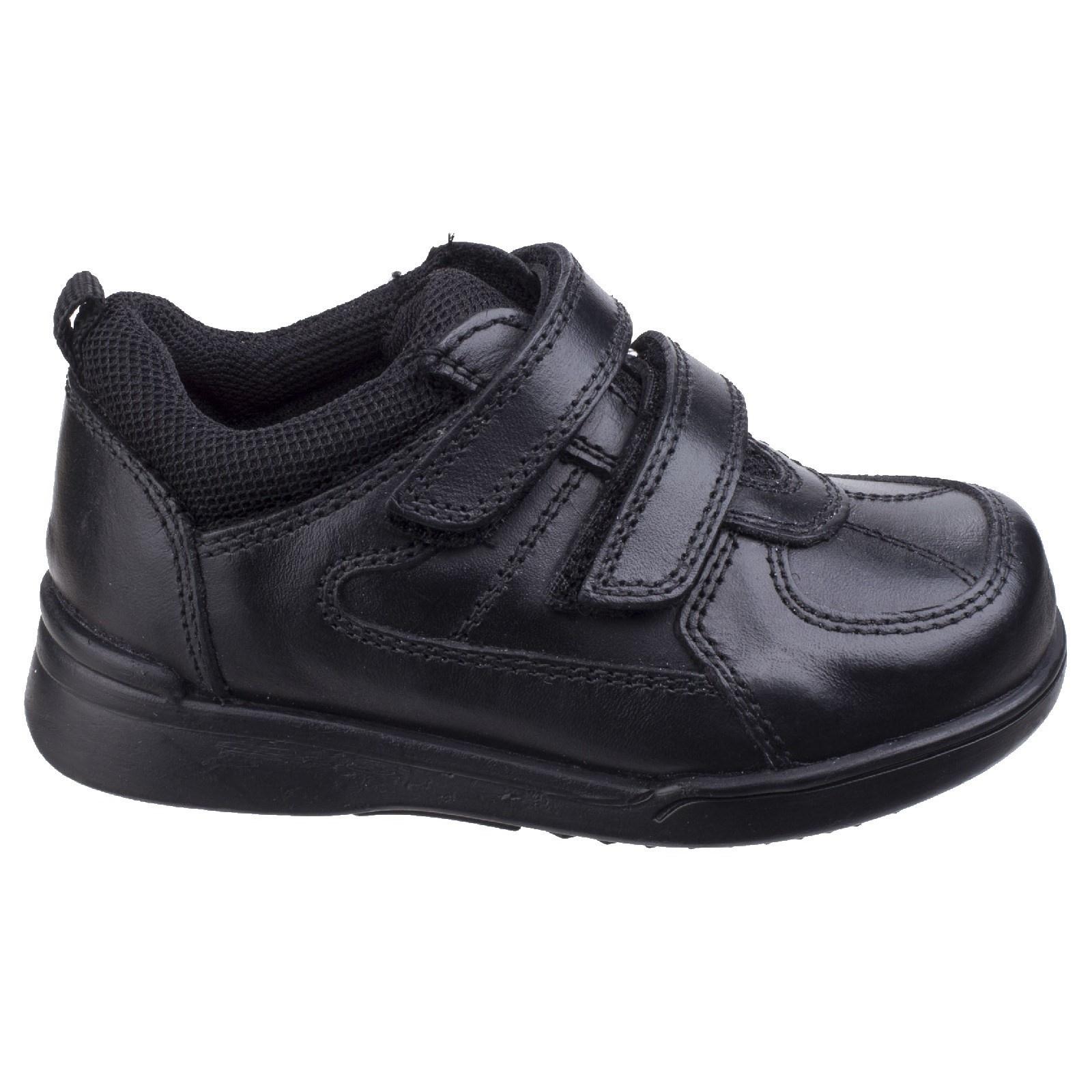 Hush Puppies Liam Black Leather