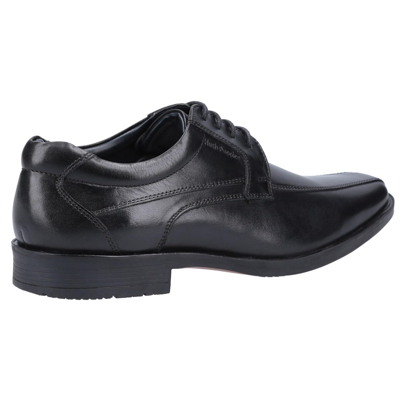 Hush Puppies Brandon Black Leather