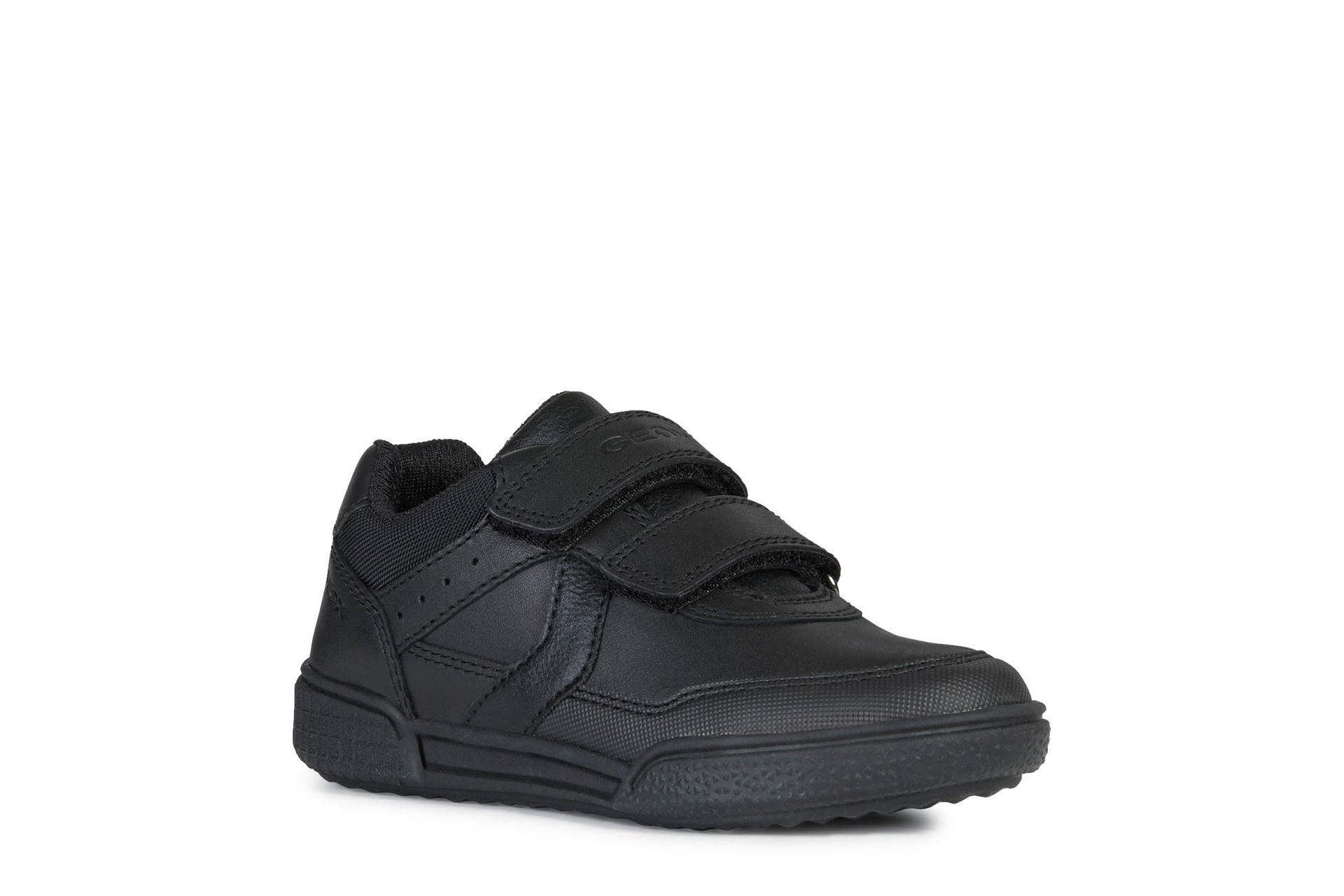 Geox Poseido B.A Black Leather