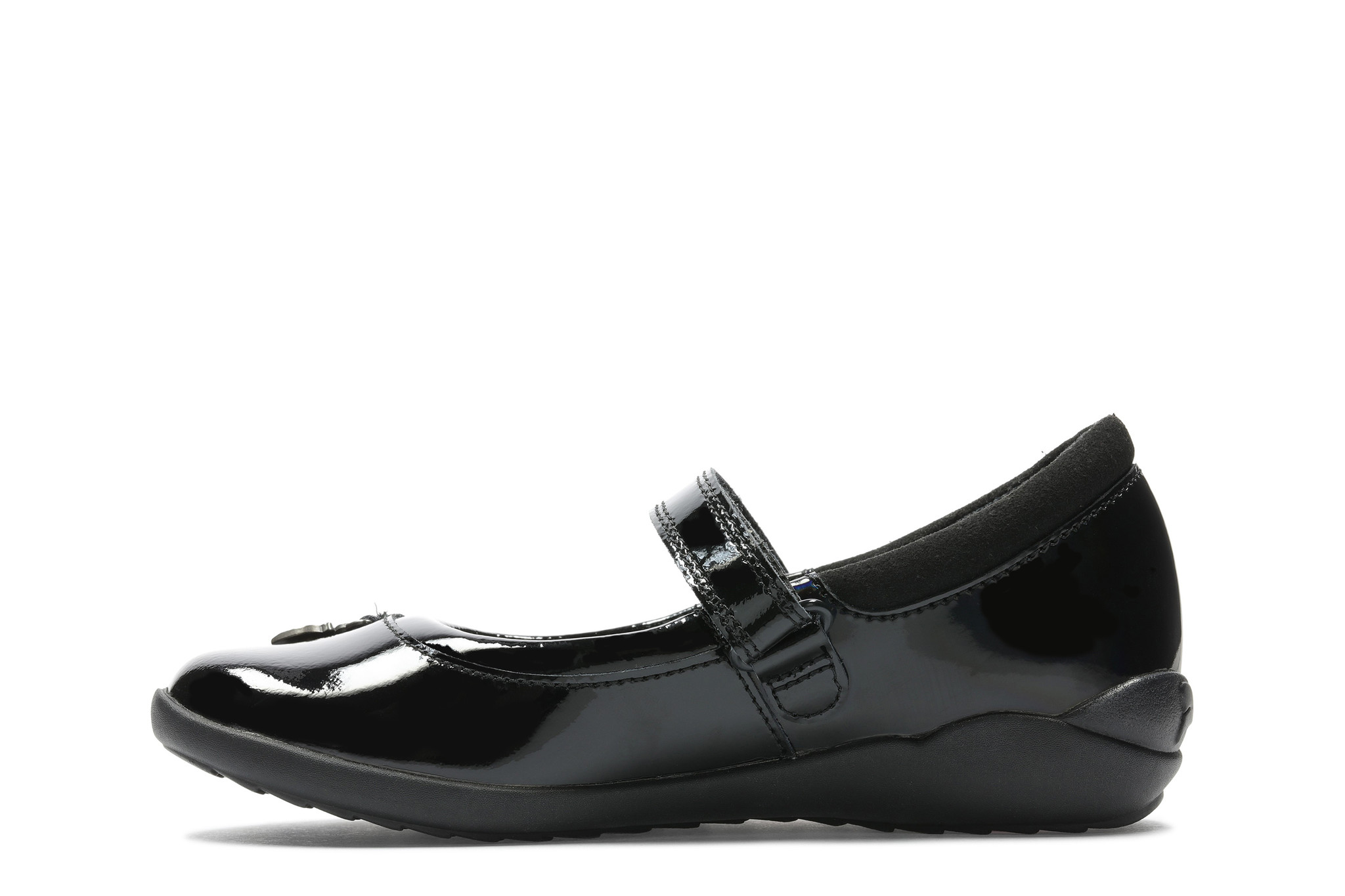 Clarks Vibrant Trail K Black Leather