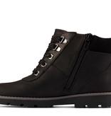 Clarks Heath Go GTX Black Leather