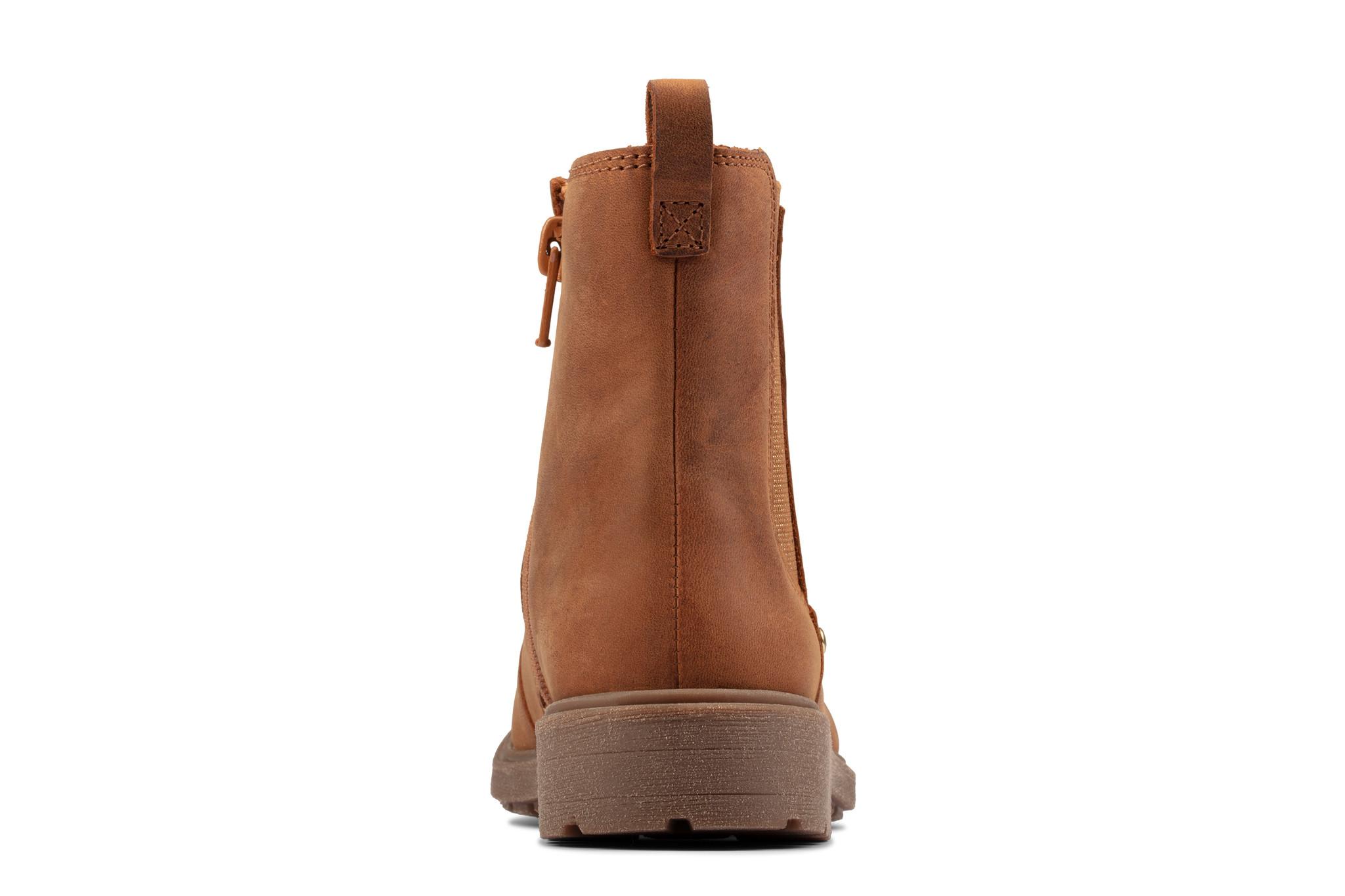 Clarks Astrol Orin Tan Leather
