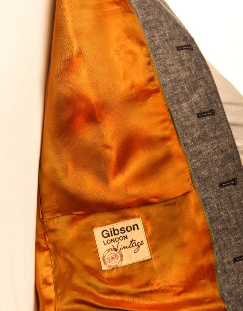 Gibson G19116TB LINEN WAISTCOAT