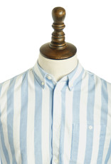 Norse Projects Anton Wide Stripe Oxford