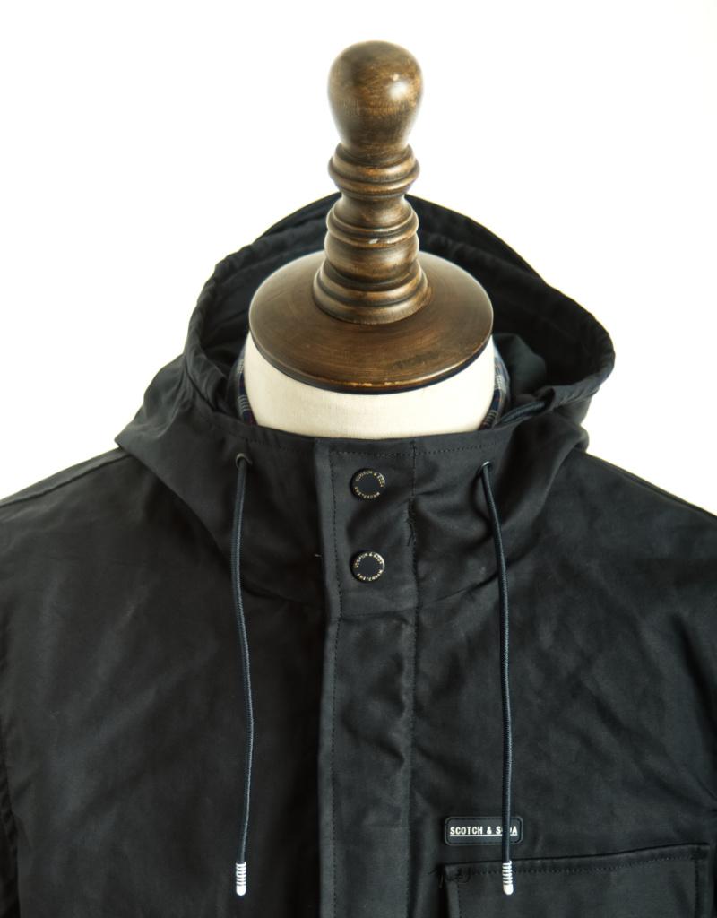 Scotch & Soda Hooded Coat | 152005