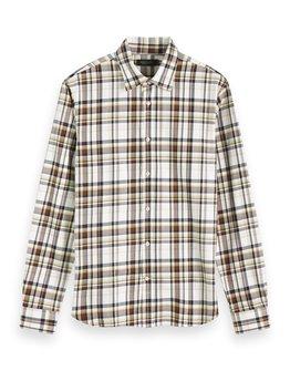 Scotch & Soda Checked Cotton Shirt