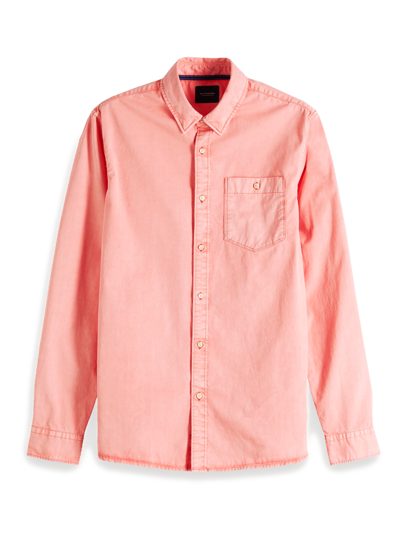 Scotch & Soda Garment Dyed Shirt   151137