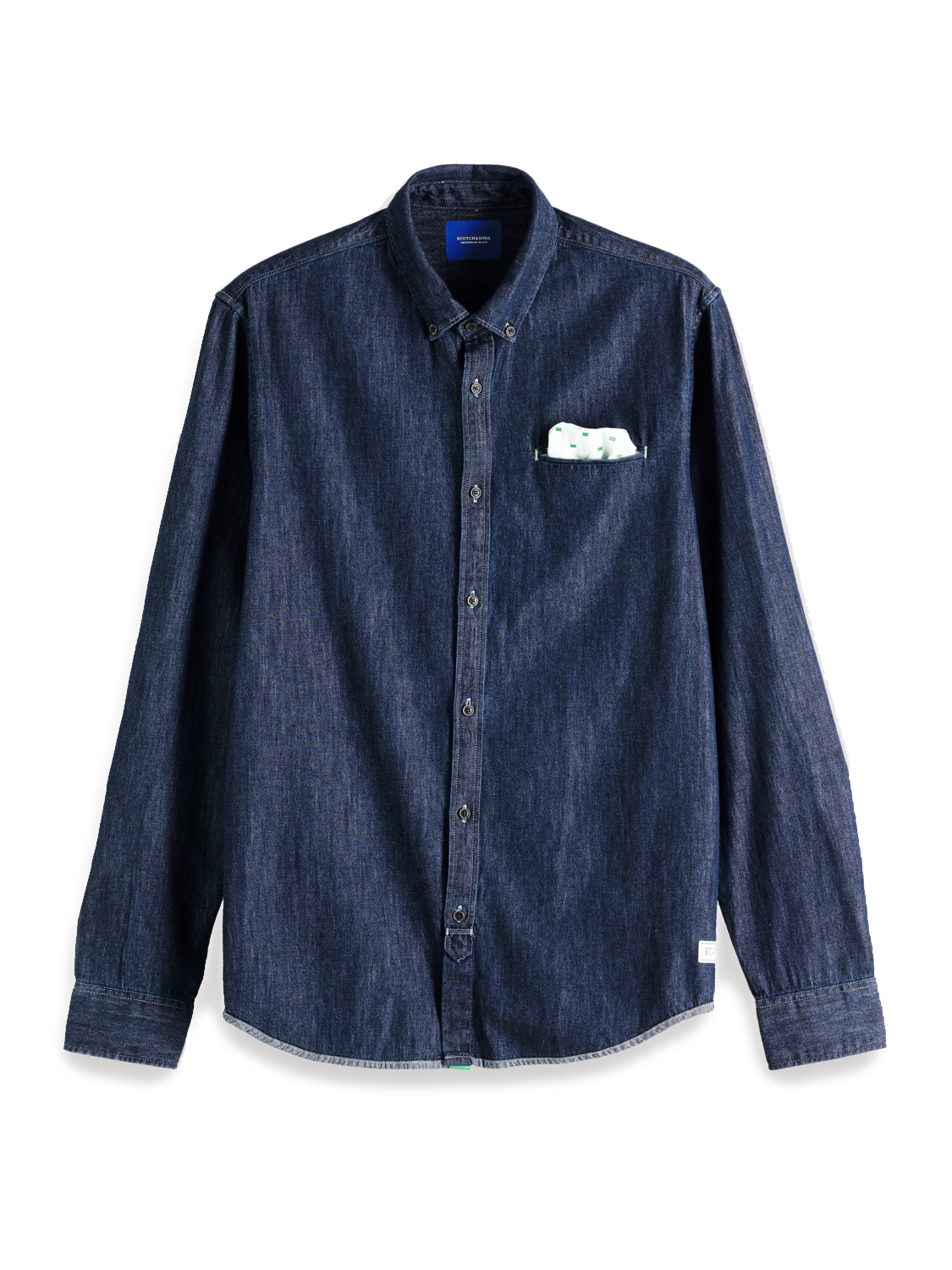 Scotch & Soda Regular Fit Denim Shirt | 151133