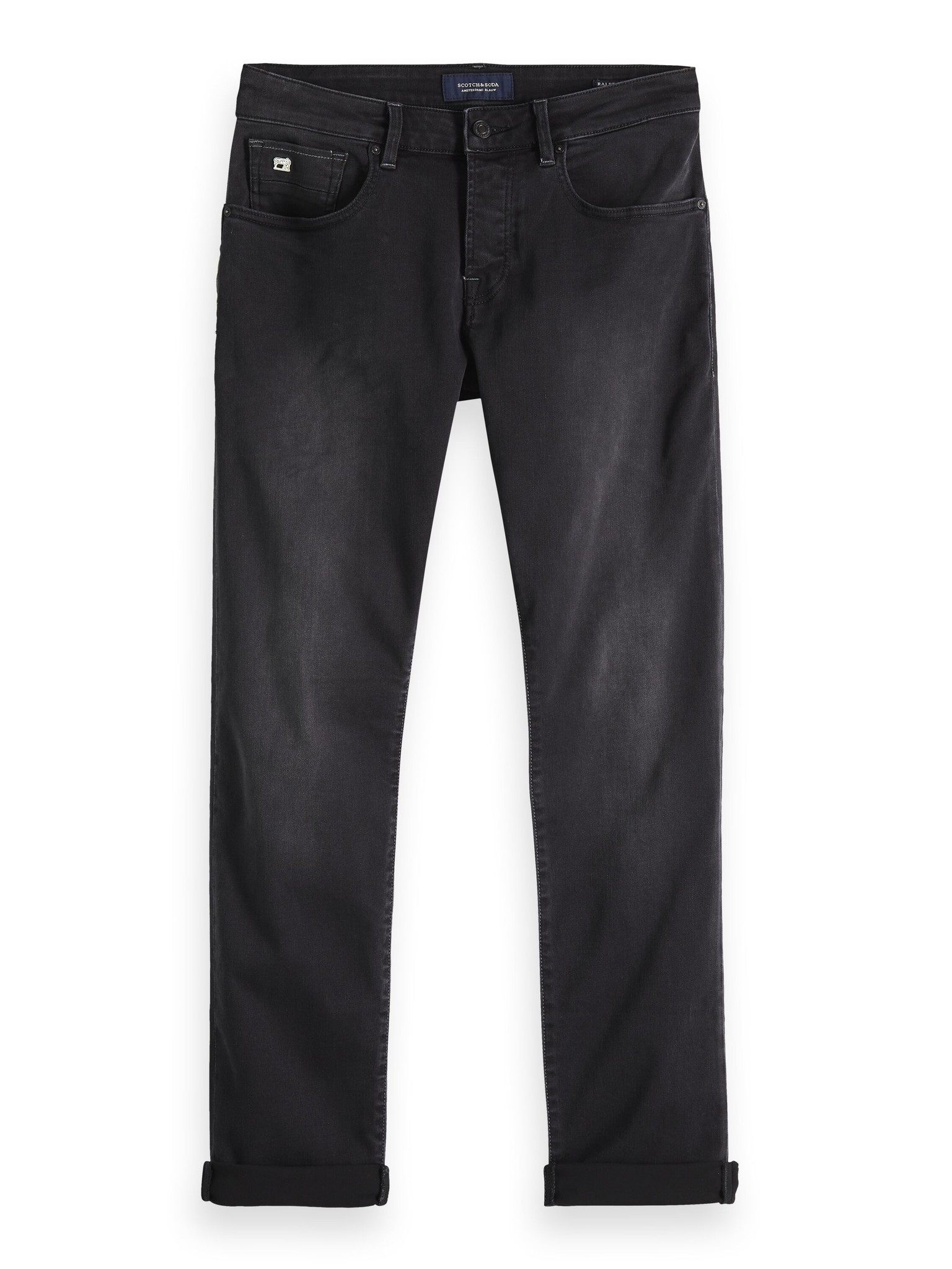 Scotch & Soda Ralston Freerun Black Jeans   150963