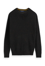 Scotch & Soda Black Classic Crew | 152388
