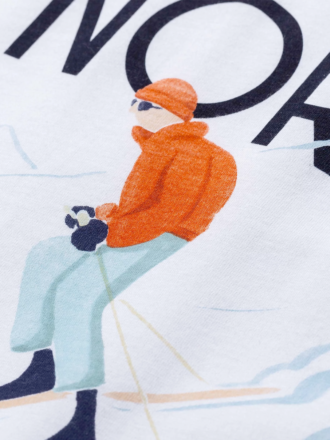 Norse Projects x Daniel Frost Racing Skier T-Shirt | N01-0473