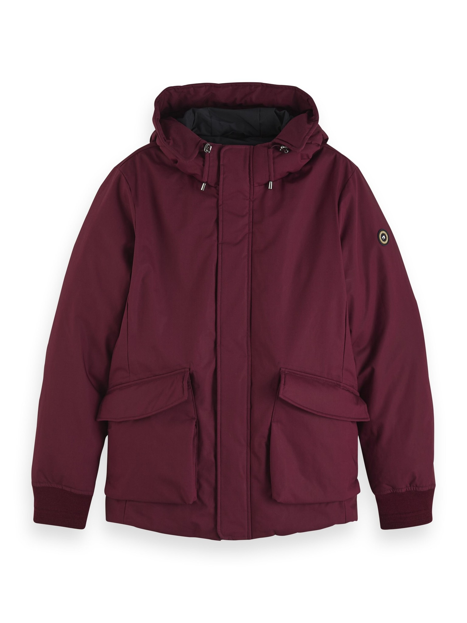 Scotch & Soda Short Hooded Jacket | 152030