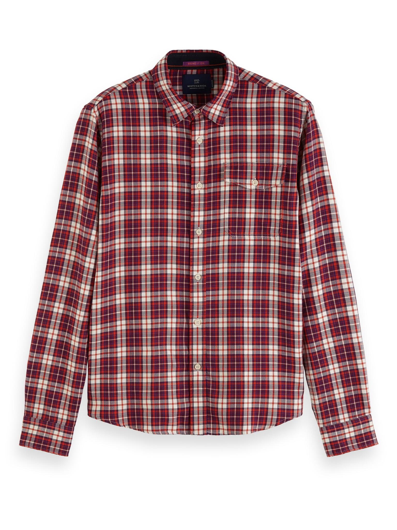 Scotch & Soda Multicolour Check Shirt | 152157
