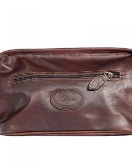 Melvill & Moon Tsavo Leather Wash Bag