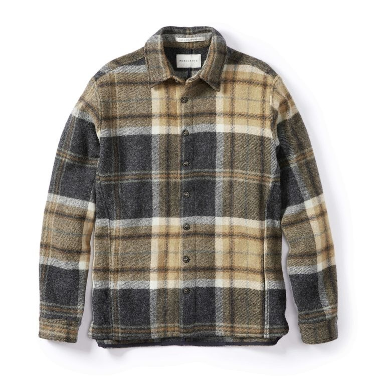 PEREGRINE Wool Barney Overshirt