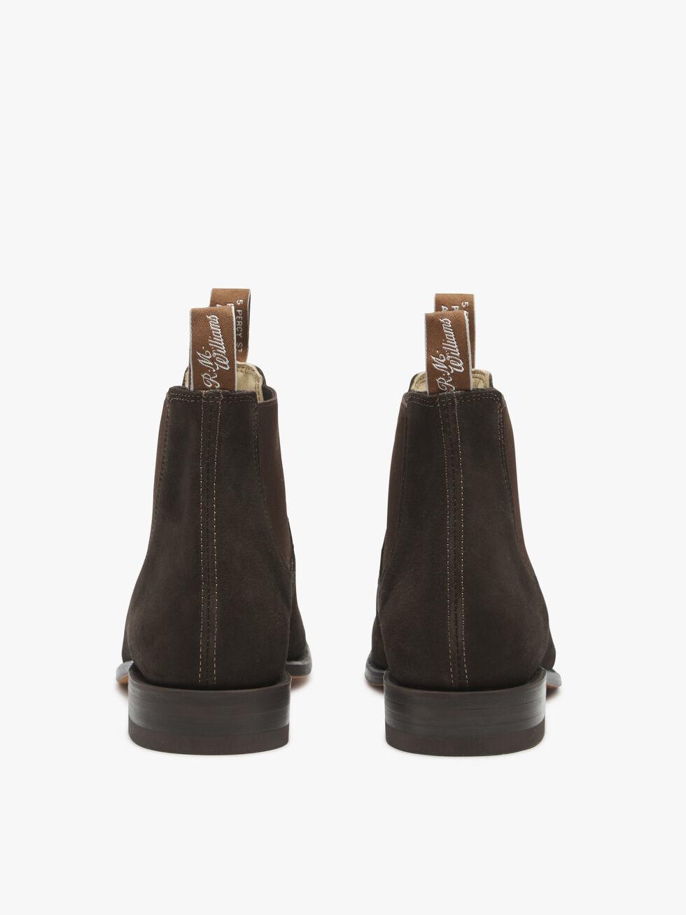 RM Williams Suede Comfort Craftsman