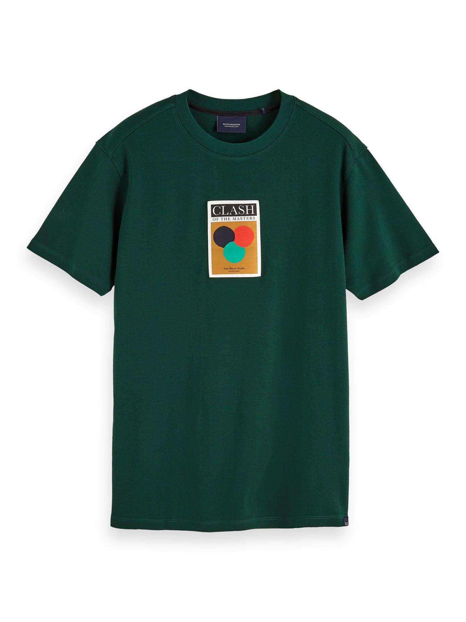 Scotch & Soda Label Detail T-Shirt