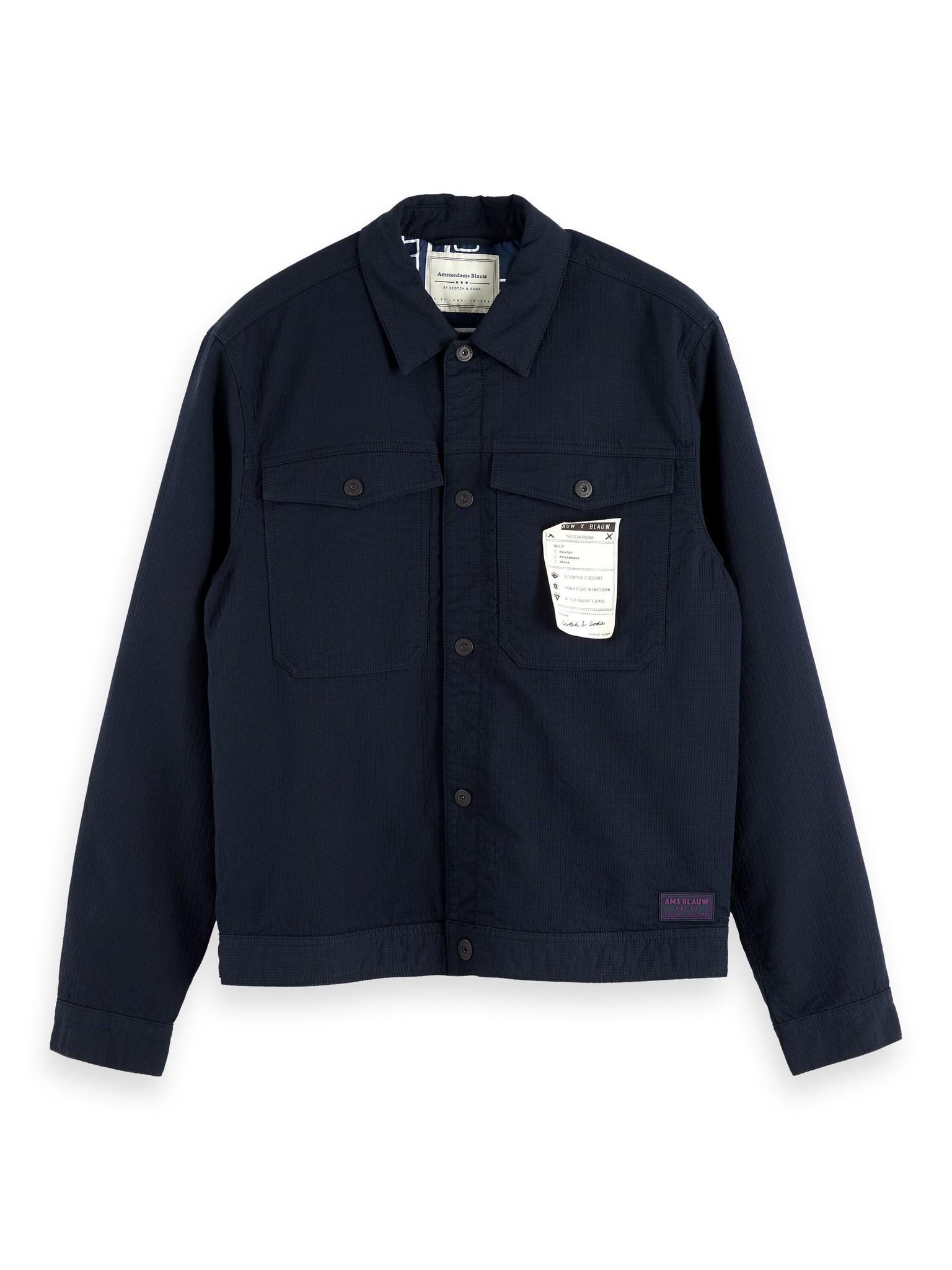 Scotch & Soda Lightweight Trucker Jacket