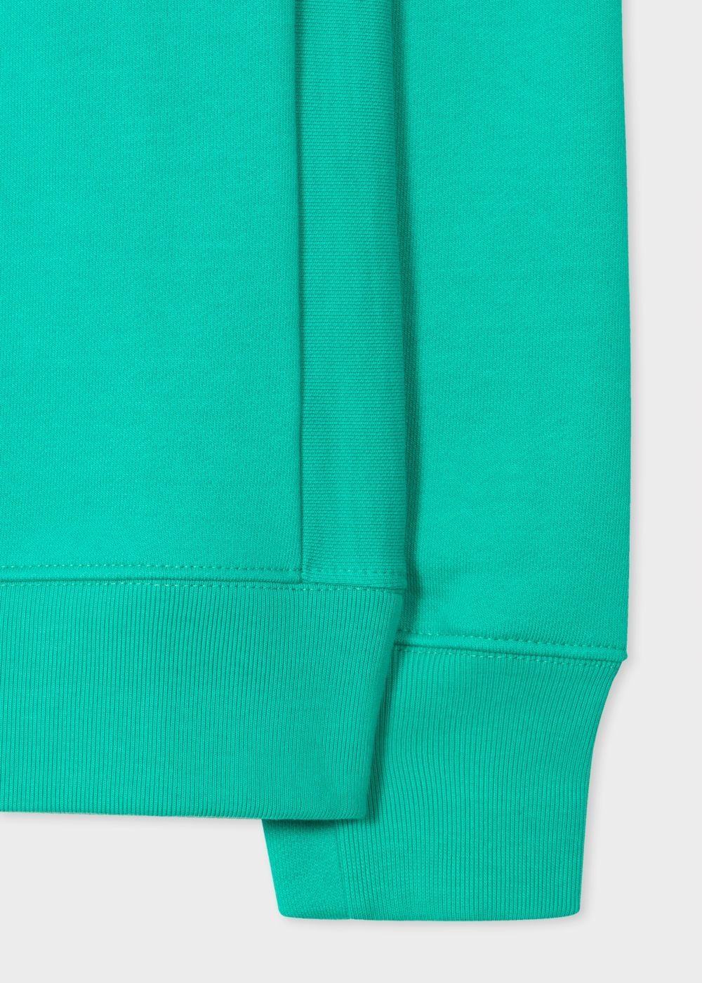 PS By Paul Smith Turquoise Organic Cotton Sweatshirt