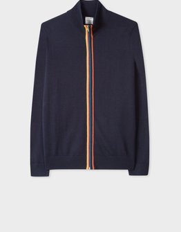 Paul Smith Multicolour Zip Cardigan
