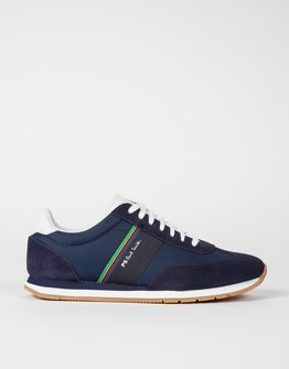 PS By Paul Smith Navy Prince Trainers
