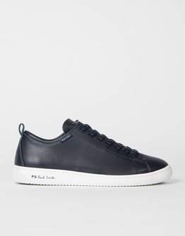 PS By Paul Smith Navy Miyata Trainers
