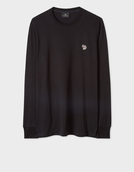 PS By Paul Smith Zebra Logo Long Sleeve T-Shirt