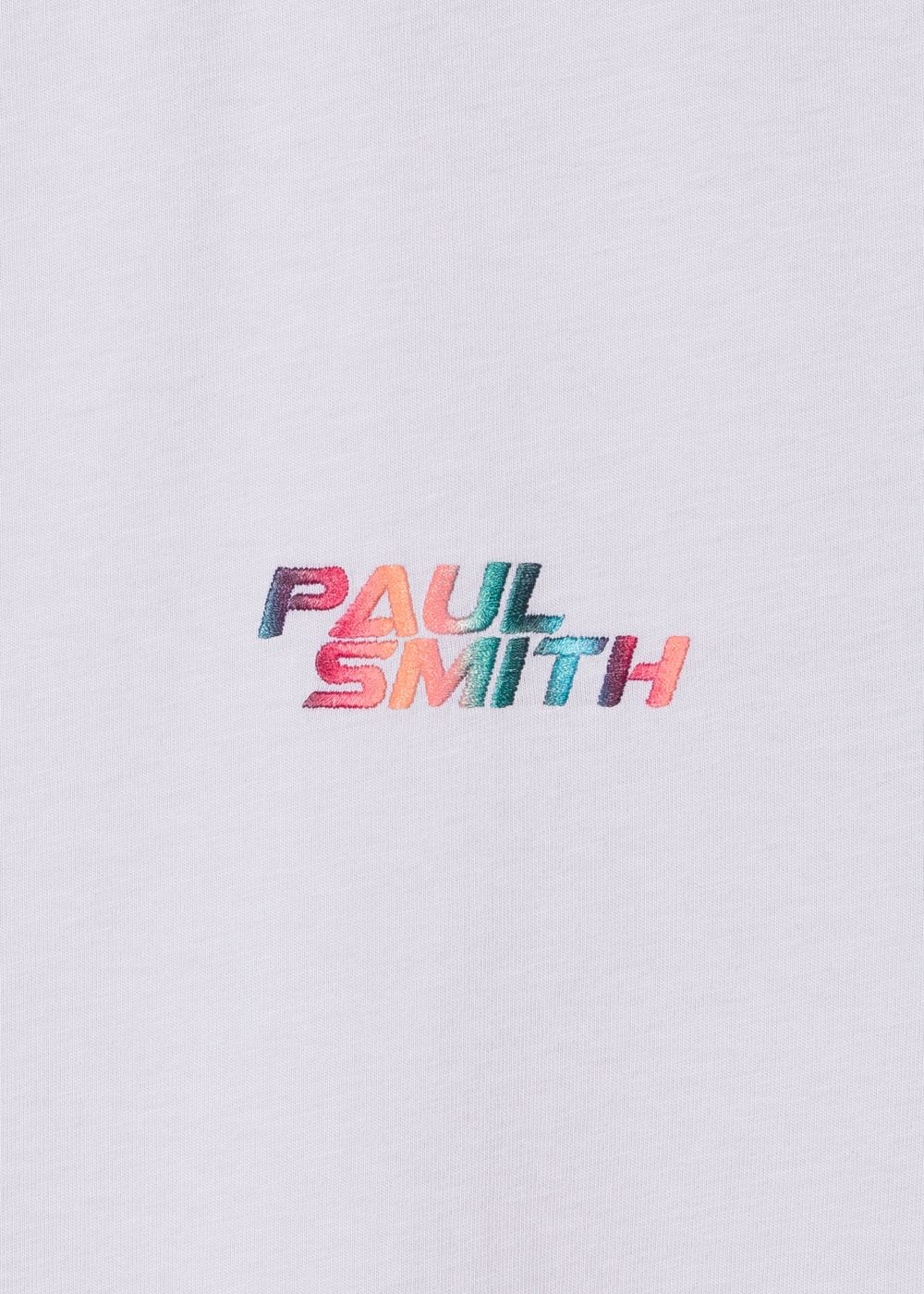PS By Paul Smith M1R-697PE Embroidered T-Shirt