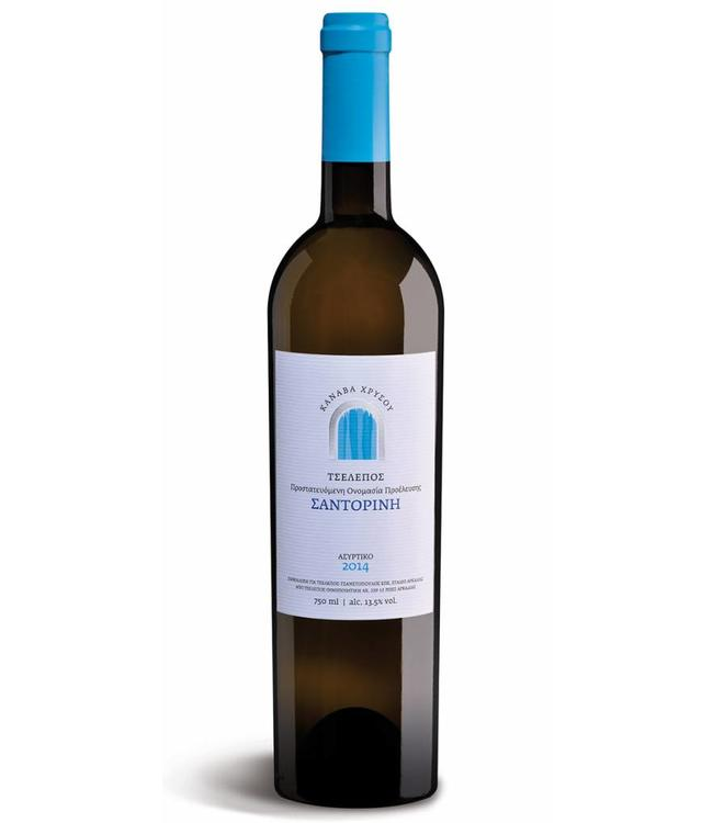 Tselepos Winery Canava Chrysou Santorini 2015