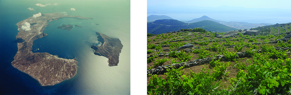 Santorini, Cycladen, Griekenland