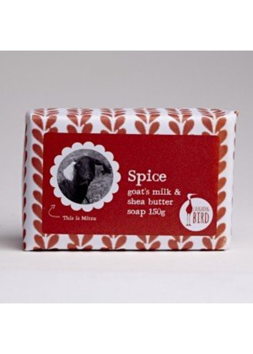 Laughing Bird Shea Butter and Goats Milk Soap - Spice