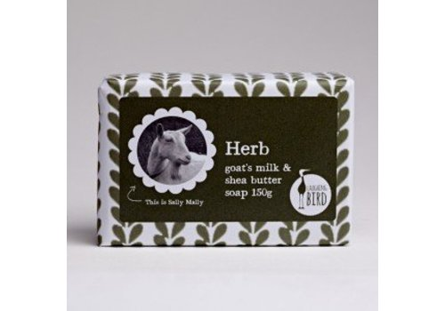 Laughing Bird Shea Butter and Goats Milk Soap - Herb