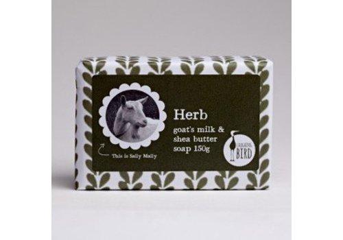 Laughing Bird Shea Butter and Goats Milk Soap - Herb
