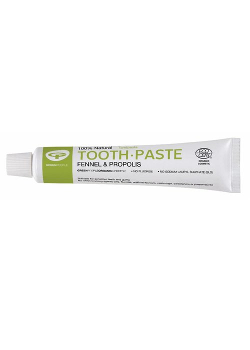 Green People Toothpaste - Fennel and Propolis