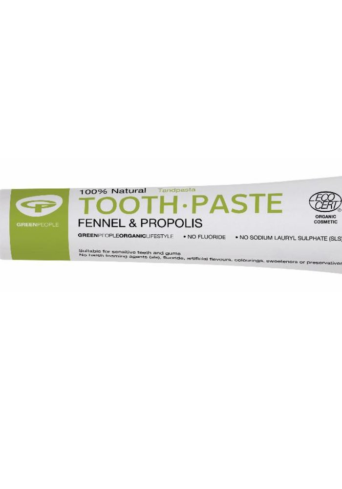 Toothpaste - Fennel and Propolis