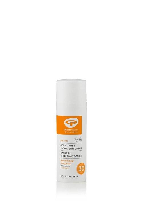Green People Facial Sun Cream Scent Free SPF30