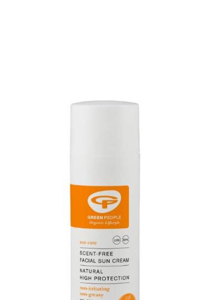 Facial Sun Cream Scent Free SPF30
