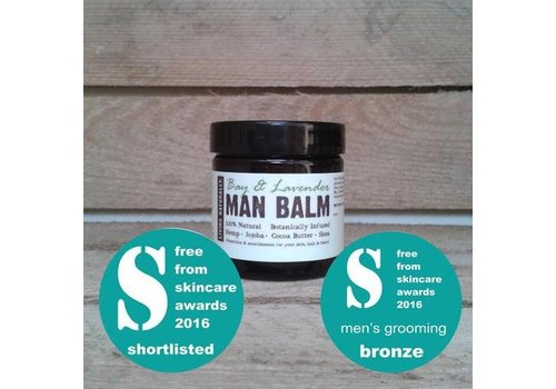 Living Naturally Man Balm - Bay and Lavender