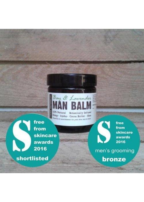 Living Naturally Man Balm - Bay and Lavender