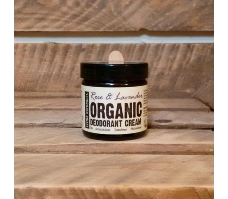 Deodorant Cream - Rose and Lavender