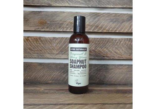 Living Naturally Shampoo - Bergamot and Ylang Ylang