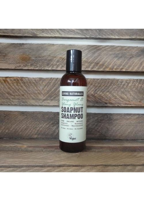 Living Naturally Shampoo - Bergamot and Ylang Ylang